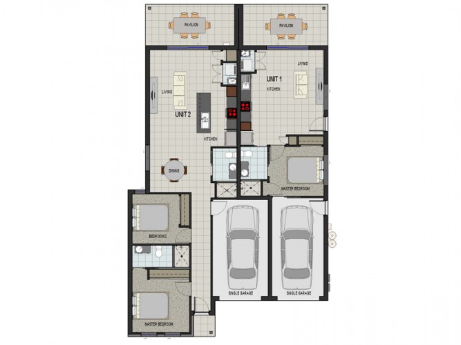 Duo 194 Duplex design