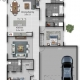 Lot 415 Mitchell Street, Jimboomba Floor Plan